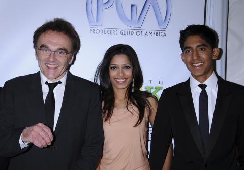 Freida Pinto, Dev Patel, Danny Boyle - Hollywood - 24-01-2009 - Il Daily Telegraph accusa: sfruttati i bambini di The Millionaire