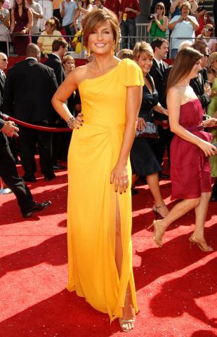 Mariska Hargitay - Los Angeles - 22-09-2008 - Mariska Hargitay e' tornata al lavoro dopo il ricovero
