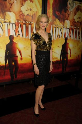 Nicole Kidman - New York - 24-11-2008 - Australia è il film più piratato