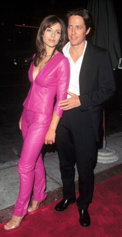 Hugh Grant, Elizabeth Hurley - Los Angeles - 28-01-2009 - Coppie d'archivio