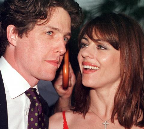 Hugh Grant, Elizabeth Hurley - 28-01-2009 - Coppie d'archivio