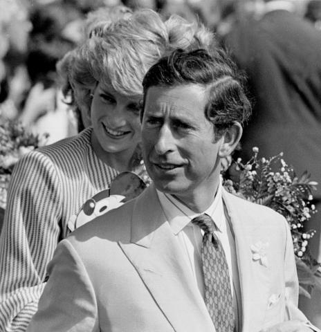 Principe Carlo, Lady Diana - Londra - 28-01-2009 - Coppie d'archivio