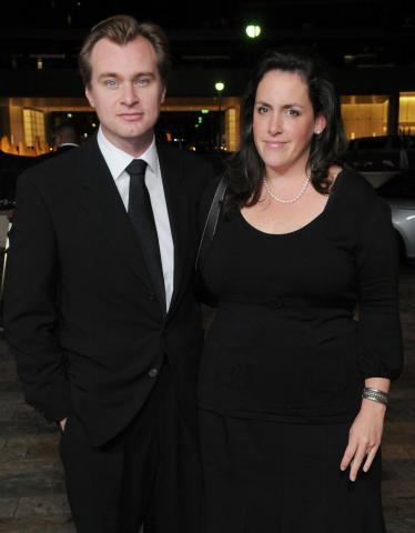 Emma Thomas, Christopher Nolan - Century City - 02-02-2009 - Christopher Nolan cerca le protagoniste femminili per il prossimo Batman