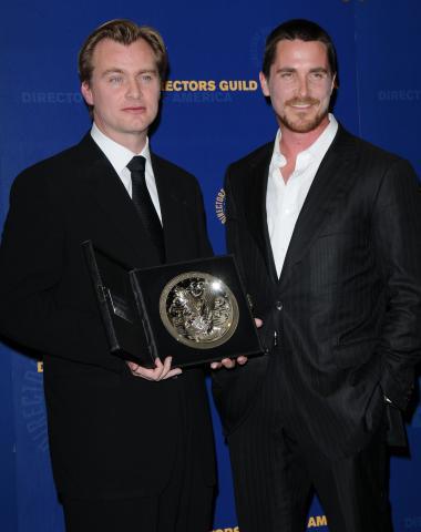 Christopher Nolan, Christian Bale - Century City - 31-01-2009 - Christopher Nolan non e' un fan del 3D