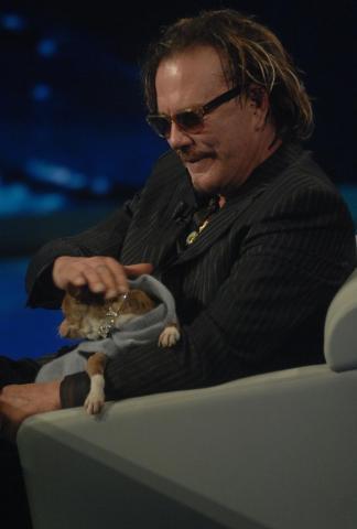 "Mickey Rourke - Milano - 23-10-2008 - Mickey Rourke: ""Agli Oscar vincera' Sean Penn"""