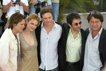 Colin Firth, Atom Egoyan, Rachel Blanchard, Kevin Bacon - Cannes - 15-05-2005 - Tremors, nuova serie tv in arrivo. Ci sarà anche Kevin Bacon