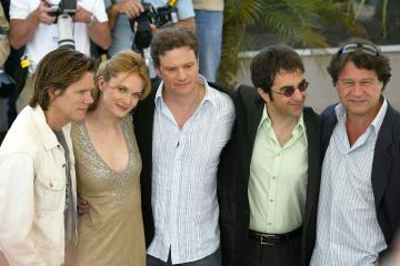 Colin Firth, Atom Egoyan, Rachel Blanchard, Kevin Bacon - Cannes - 15-05-2005 - Tremors, nuova serie tv in arrivo. Ci sarà anche Kevin Bacon