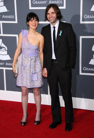 Ben Gibbard, Zooey Deschanel - Los Angeles - 08-02-2009 - Zooey Deschanel chiede il divorzio da Ben Gibbard