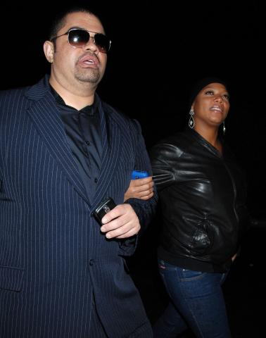 Heavy D, Queen Latifah - Beverly Hills - 09-02-2009 - Morto a 44 anni il rapper Heavy D