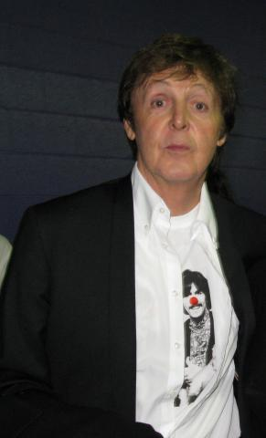 Paul McCartney - Los Angeles - 08-02-2009 - La musica dei Beatles diventa un videogame