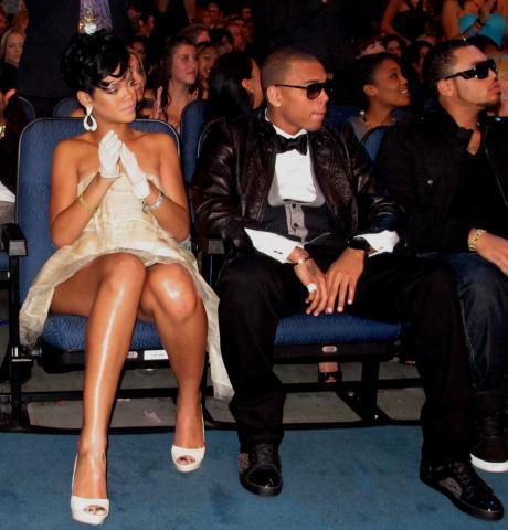 Chris Brown, Rihanna - Los Angeles - 23-11-2008 - Chris Brown gia' violento a 11 anni