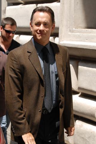 Tom Hanks - Roma - 04-06-2008 - Tom Hanks ossessionato dalle macchine da scrivere
