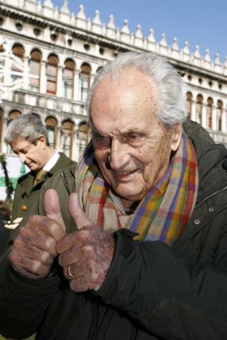 Ottavio Missoni - Venezia - 15-02-2009 - E' morto a novantadue anni Ottavio Missoni