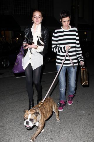 Samantha Ronson, Lindsay Lohan - Hollywood - 20-02-2009 - Lindsay Lohan ha duettato con Samantha Ronson