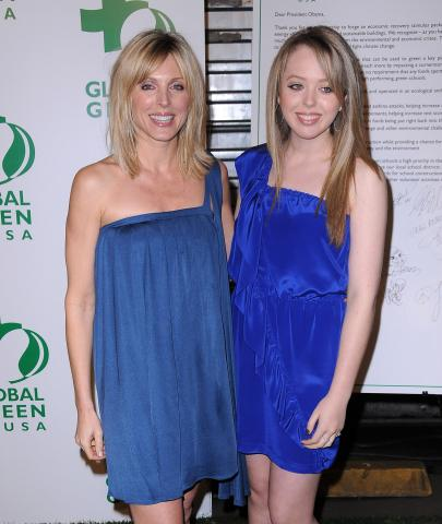 Tiffany Trump, Marla Maples - Hollywood - 19-02-2009 - Tiffany Trump: niente foto con papà Donald, è