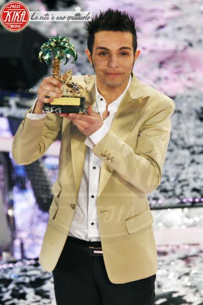 Marco Carta - Sanremo - 22-02-2009 - Sanremo, i vincitori degli ultimi 15 anni