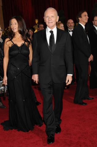 "Anthony Hopkins - Hollywood - 22-02-2009 - Anthony Hopkins e' un fan di ""American Idol"" e vuole farne un film"