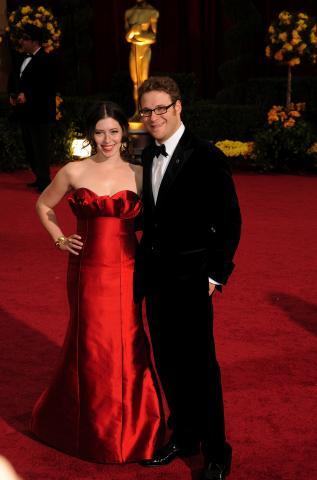 Lauren Miller, Seth Rogen - Hollywood - 22-02-2009 - Seth Rogen si sposa