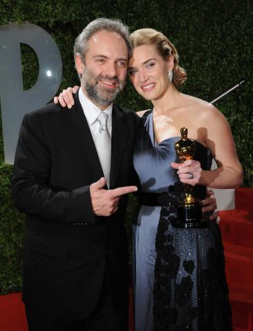Sam Mendes, Kate Winslet - West Hollywood - 23-02-2009 - Non c'è due senza tre... star dal SI' facile