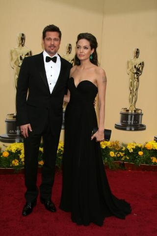 Angelina Jolie, Brad Pitt - Hollywood - 22-02-2009 - Brad Pitt si da' alla politica
