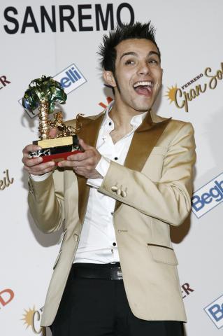 Marco Carta - Sanremo - 22-02-2009 - Marco Carta nella lista nera di Radio Deejay