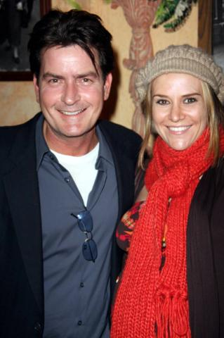 Brooke Mueller, Charlie Sheen - Los Angeles - 16-03-2009 - Due gemelli per Charlie Sheen