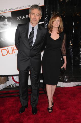 Liz Gilroy, Tony Gilroy - New York - 17-03-2009 - Matt Damon distrugge Tony Gilroy sceneggiatore di Bourne Ultimatum