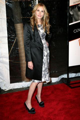 Julia Roberts - New York - Julia Roberts vieta ai figli di recitare