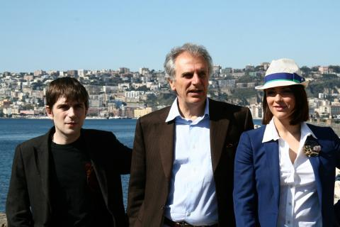 Marco Risi, Valentina Lodovini, Libero De Rienzo - Napoli - 17-03-2009 - Sono cinque i film italiani candidati all'Oscar