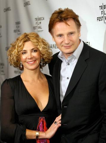 Liam Neeson, NATASHA RICHARDSON - Toronto - 17-03-2009 - E' morta Natasha Richardson