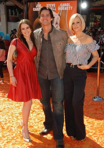 figlia, Jenny McCarthy, Jim Carrey - Westwood - 08-03-2008 - La figlia di Jim Carrey divorzia dopo due anni