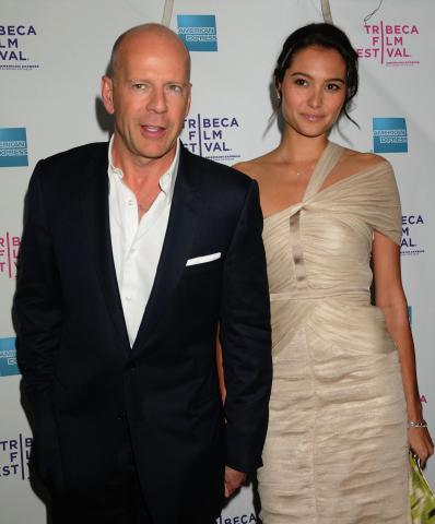 Emma Heming, Bruce Willis - Los Angeles - 27-03-2009 - Bruce Willis si e' sposato