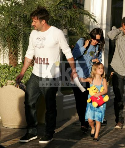 Coco, Courteney Cox, David Arquette - Hollywood - 01-04-2009 - Courteney Cox e David Arquette non stanno per divorziare