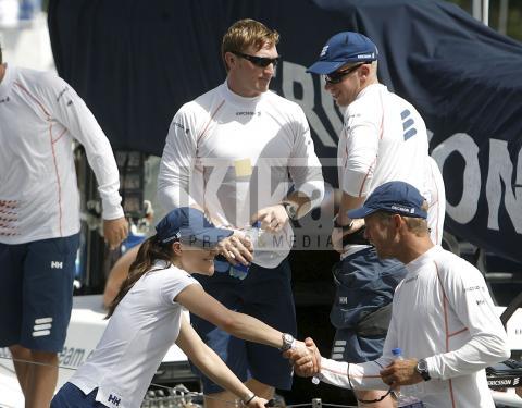 Torben Grael, Principessa Vittoria di Svezia - Rio de Janeiro - 03-04-2009 - Victoria di Svezia in visita a Rio de Janeiro