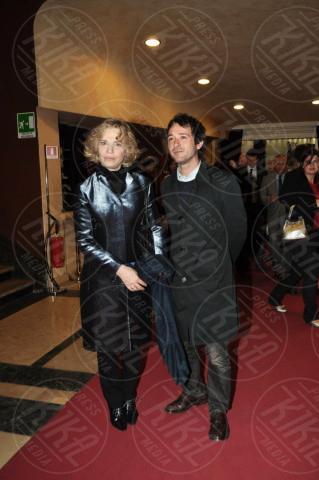 Irene Ghergo, Pierluigi Diaco - Roma - 19-04-2009 - Maurizio Costanzo alla prima de