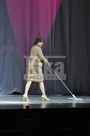 Nancy Brilli - Roma - 19-04-2009 - Maurizio Costanzo alla prima de