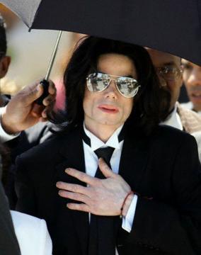 Michael Jackson - Santa Maria - Michael Jackson furioso con GQ.