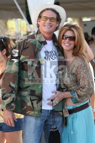 Kim Porter, David Hasselhoff - Indio - 17-04-2009 - Ancora guai con l'alcol per Devid Hasselhoff