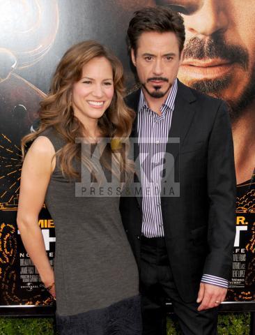Susan Levin, Robert Downey Jr - Hollywood - 21-04-2009 - Vacanza romantica con il pancione per Robert Downey jr e Susan Levin