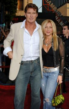 Pamela Bach, David Hasselhoff - Hollywood - 27-06-2005 - TV – USA: ordine a Hassellhoff (Baywatch), lontano da moglie