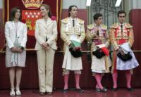 toreri, Nieves Goicoechea, Infanta Elena di Borbone - Madrid - 27-05-2009 - Madrid, principesse e corrida per la festa di San Isidro