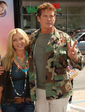 moglie, David Hasselhoff - Hollywood - 10-07-2005 - TV – USA: ordine a Hassellhoff (Baywatch), lontano da moglie