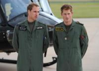 Principe William, Principe Harry - Shewbury - 18-06-2009 - William e Harry di Inghilterra confortano la squadra ai Mondiali