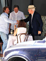 Charles Saatchi, Steve Martin - Londra - 05-07-2009 - Divorzio ufficiale per Charles Saatchi e Nigella Lawson