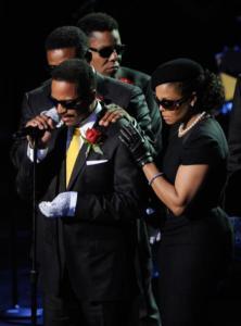 """famiglia Michael Jackson - Los Angeles - 07-07-2009 - La Toya Jackson: """"Michael e' stato assassinato"""""""