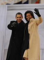 Michelle Obama, Barack Obama - Washington - 26-01-2009 - Barack Obama difende pubblicamente i suoi jeans