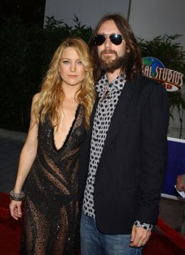 Chris Robinson, Kate Hudson - Universal City - 02-08-2005 - Brad Pitt e Kate Hudson: sbirciatina agli ex della nuova coppia!