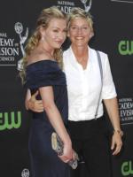 Ellen DeGeneres, Portia De Rossi - Los Angeles - 30-08-2009 - Ellen DeGeneres rimpiazza Paula Abdul in American Idol