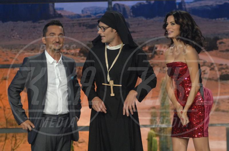Rossella Brescia, Nicola Savino - Milano - 29-09-2009 - Chiesa e show biz, un rapporto di amore e odio