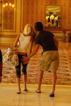 Ascanio Pacelli, Katia Pedrotti - Las Vegas - 25-08-2005 - Palpatine hot, scopri chi allunga le mani